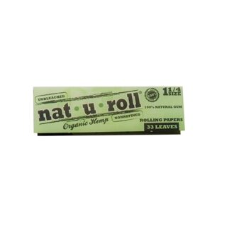 NAT-U-ROLL 1 1/4 SIZE ORGANIC HEMP 99C