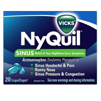 Nyquil Box 20ct