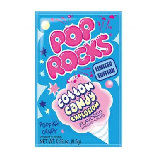 POP ROCKS COTTON CANDY 0.33 OZ