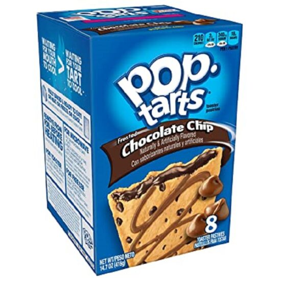 POP TARTS FROSTED CHOCOLATE CHIP 14.7 OZ 6CT