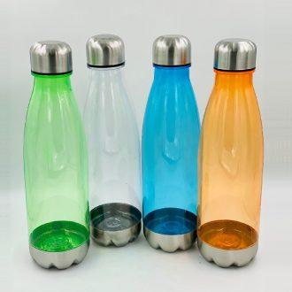 Plastic Bowling Cola Shape Water Bottle