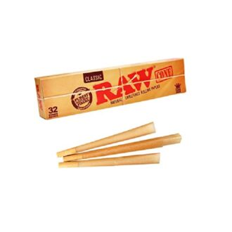 RAW CONE UNREFINED ROLLING PAPERS