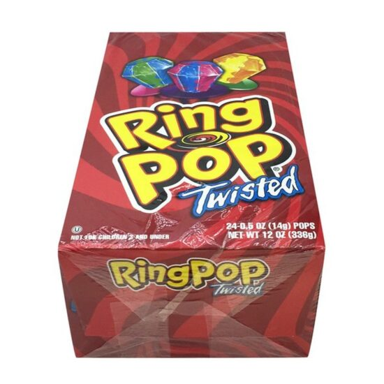 RING POP TWISTED 24CT