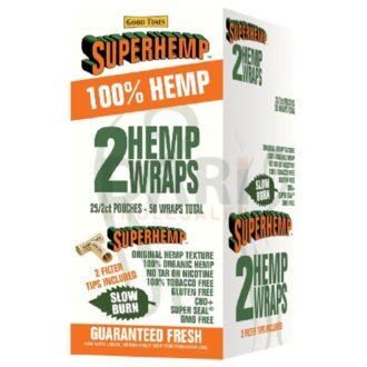 SUPERHEMP WRAPS SWEET 25/CT
