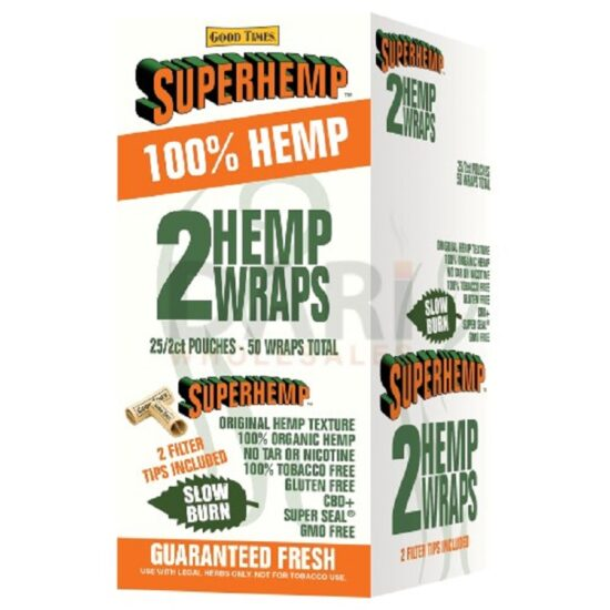 SUPERHEMP WRAPS SWEET 25/CT
