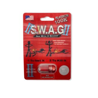 SWAG 2 in 1 Male Enhancement Pill 24ct