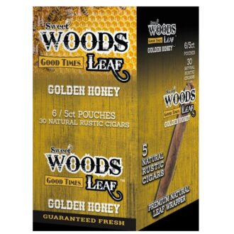 SWEET WOODS LEAF GOLDEN HONEY 6/5CT POUCHES