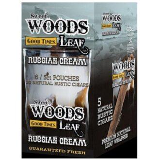SWEET WOODS LEAF RUSSIAN CREAM 6/5CT