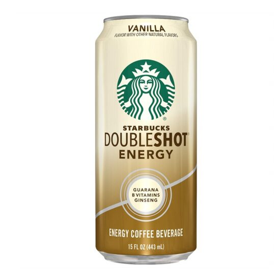 Starbucks Vanilla Double Shot 15oz 12ct