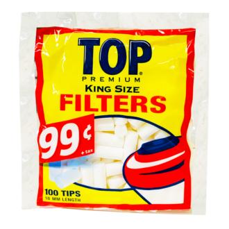 TOP KING SIZE FILTER 18MM/200PCS