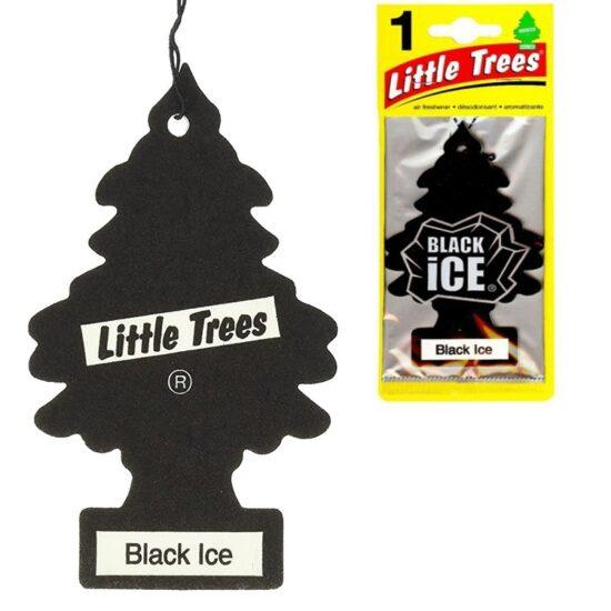 Tree Air Freshener Black Ice 2.5oz