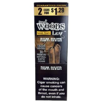 WOOD LEAF RUM RIVER 2/1.29