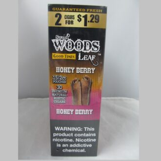 WOODS LEAF HONEY BERRY 2 FOR 1.29