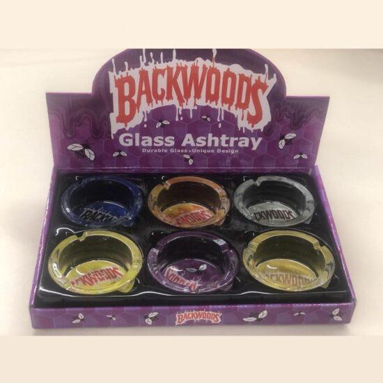 Backwoods Glass Ashtray 6ct