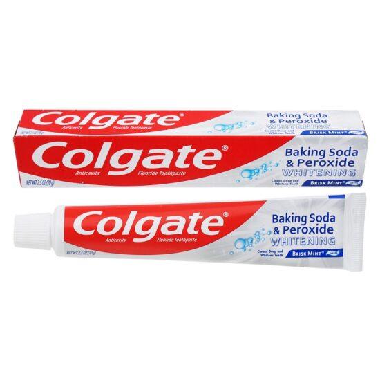Colgate Toothpaste Whitening With Baking Soda 2.5oz 6ct