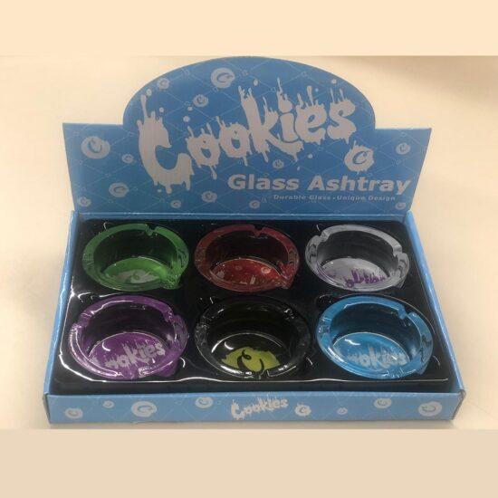 Cookies Glass Ashtray 6ct