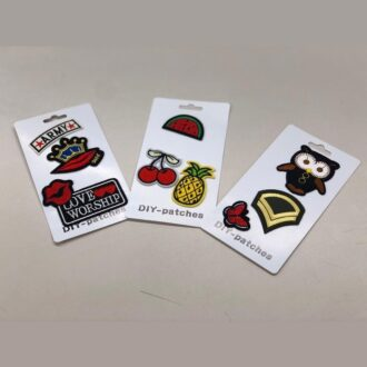DIY Fashion Patches 12ct