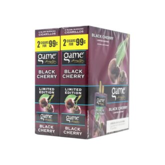 Game Cigars Black Cherry 2 For 0.99 30ct