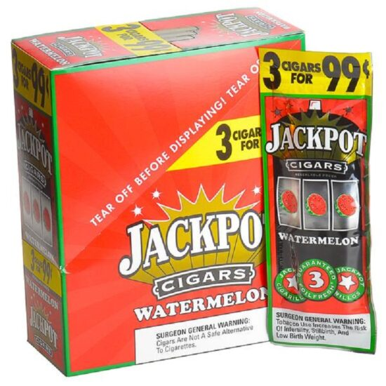 Jackpot Cigarillos Watermelon 2 For 0.99 30ct