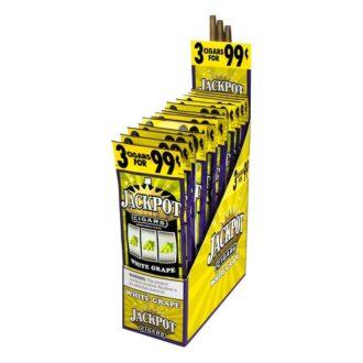 Jackpot Cigarillos White Grape 2 For 0.99 30ct