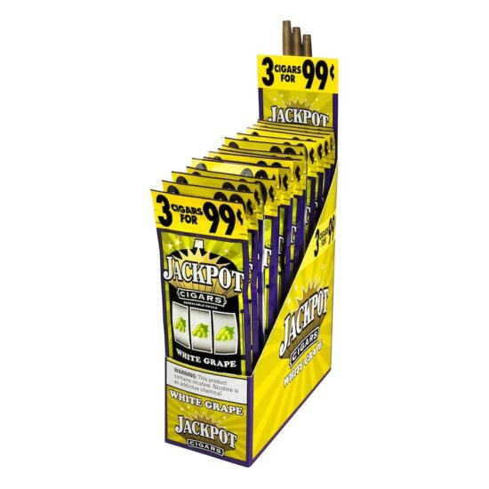 Jackpot Cigarillos White Grape 2 For 0.99 30ct