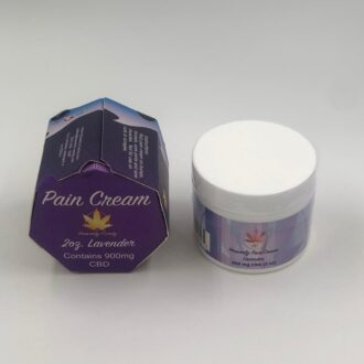 Lavender Pain Cream 900mg CBD 2oz