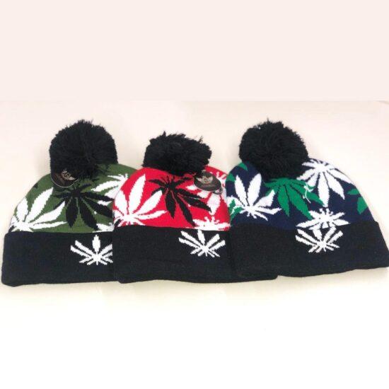 Leaf Design Hats