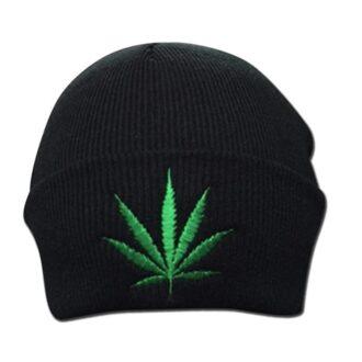 Marijuana Design Winter Hat