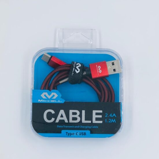 Miccell 2.4A 1.2M Type C Cable