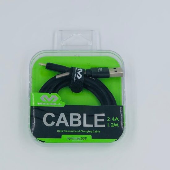 Miccell 2.4A 1.2m Lightning Cable