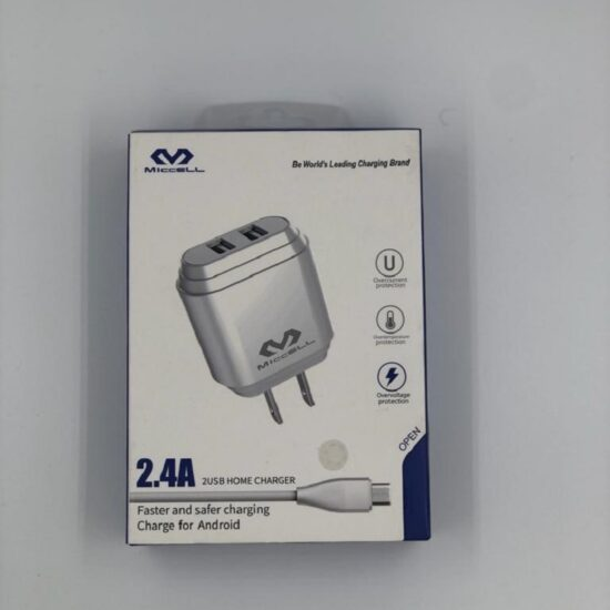 Miccell 2.4A 2USB Home Charger Android