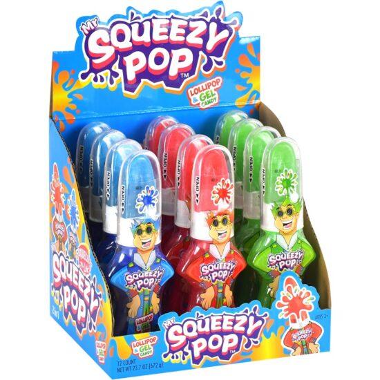 Mr Squeeze Pop 12 Count