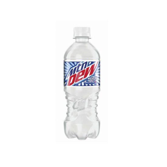 Mtn Dew White Out Soda 20oz 24ct