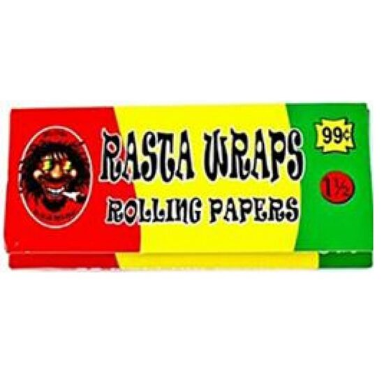 Rasta Rolling Paper 1 1 For 2 50ct