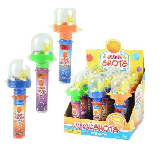Sweet Shots Toy & Candy 12ct