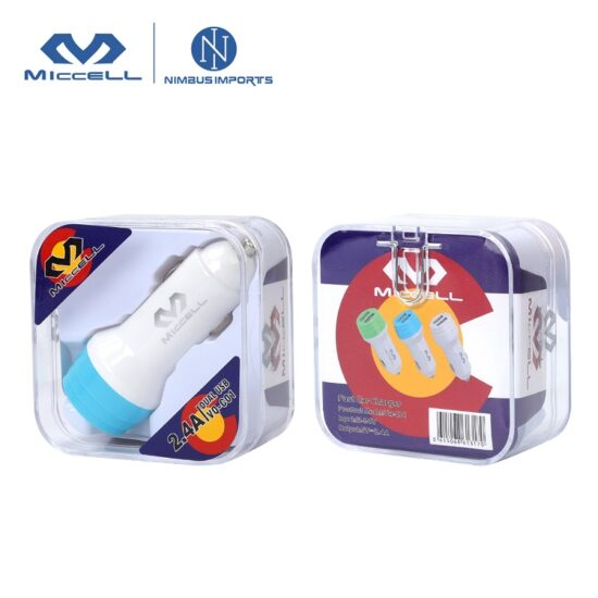 VQ C01 2.4A 2USB car charger 3