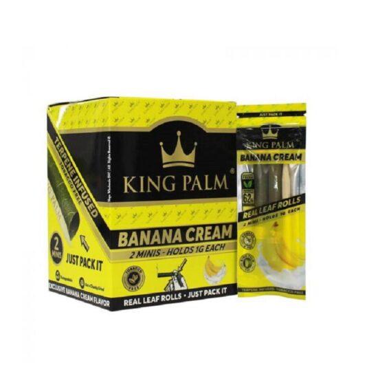 King Palm Banana Cream Mini 20/2pk