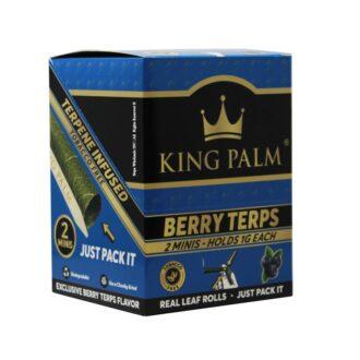 King Palm Berry Terps Mini 20/2pk
