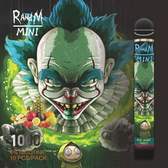 Randm Mini Big Bang Fruit 1000 Puffs