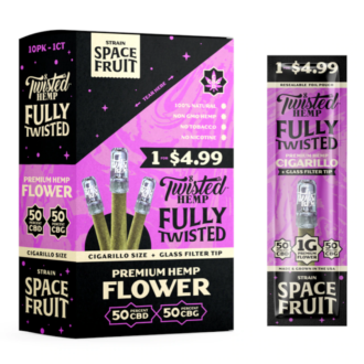 Twisted Hemp Fully Space Fruit 1 For 1.49 10ct