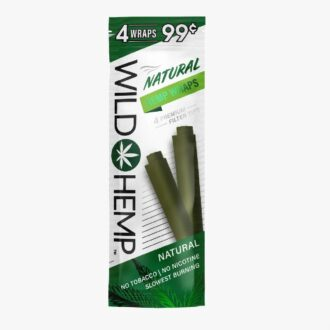 Wild Hemp Hemp Wraps Natural 4 For 0.99 20ct
