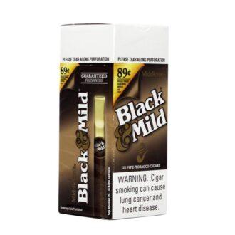 Black & Mild Original Plastic Tip 0.89C 25ct