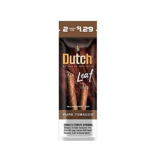 Dutch Leaf Pure Tobacco 2/$1.29 30*2