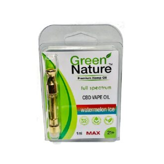 Green Nature Watermelon Ice Cartridge 500mg