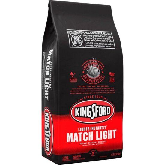 Kingsford Charcoal Briquets Match Light 8Lbs