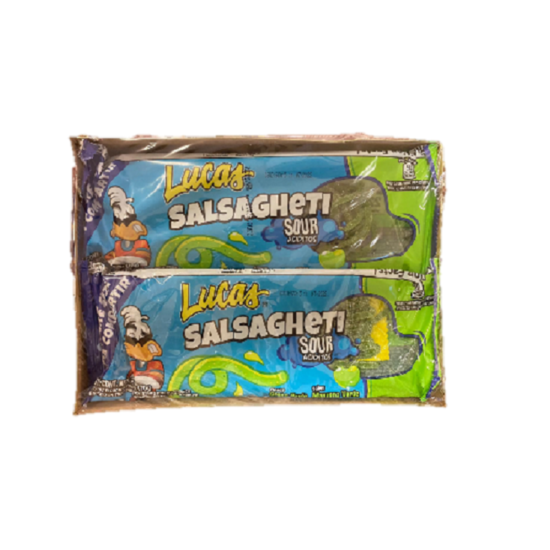 Lucas Salsagheti Sour King Size 2.47oz 6pcs