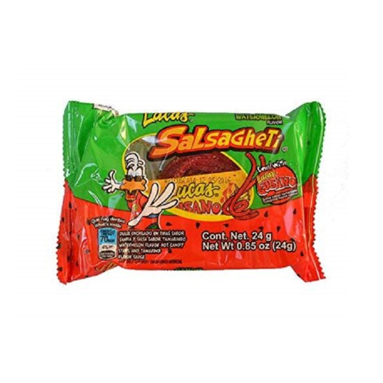 Lucas Salsagheti Watermelon 0.85oz 12pcs