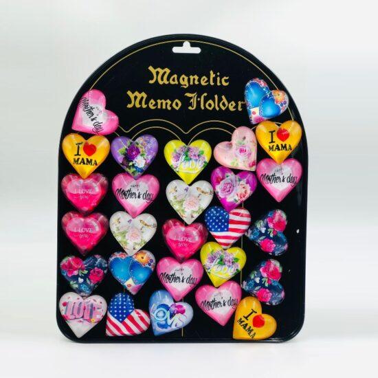 Magnetic Memo Holder 16pcs