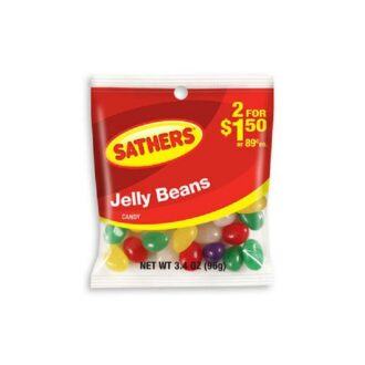Sathers Jelly Beans 2 For $1.50 3.4oz 12ct