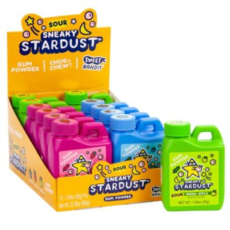 Sour Sneaky Stardust Gum Power 12ct